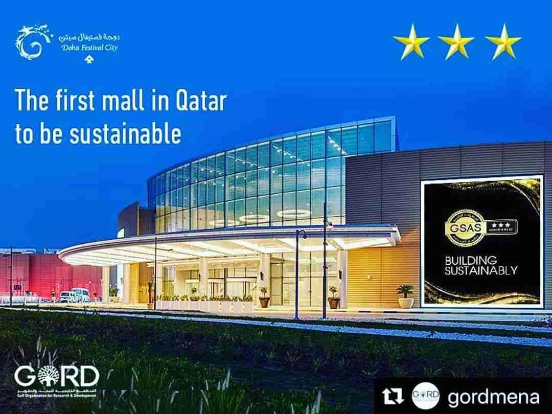 Doha Festival City Mall – GSAS (3) Stars Certf.